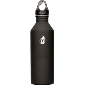 MIZU M8 Bottle with Black Loop Cap 800ml black